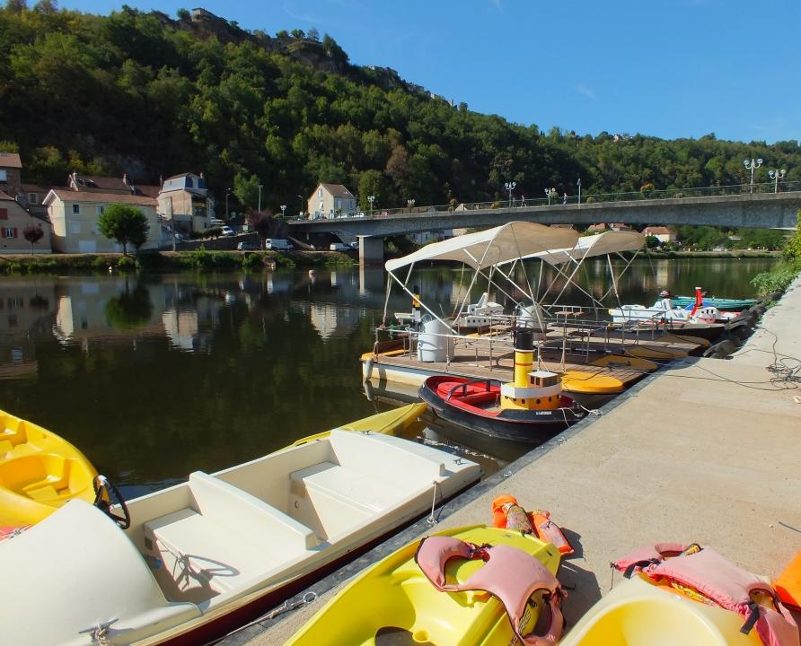 Canoës & Kayaks - Capdenac - La base nautique (Le Port) -