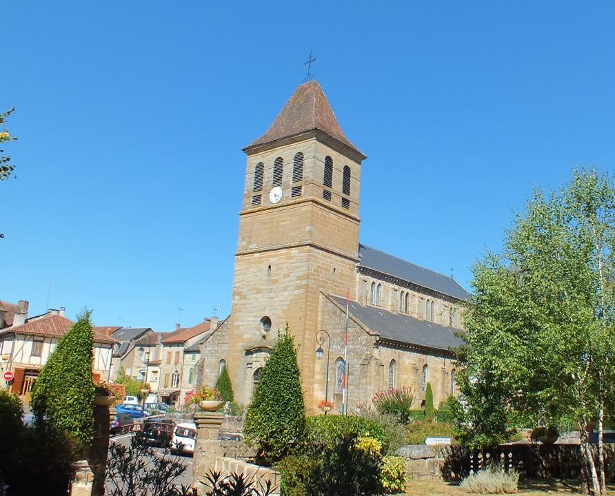 Églises & Abbayes - Lacapelle-Marival - Église Notre-Dame de l'Assomption (Place du Fort) -