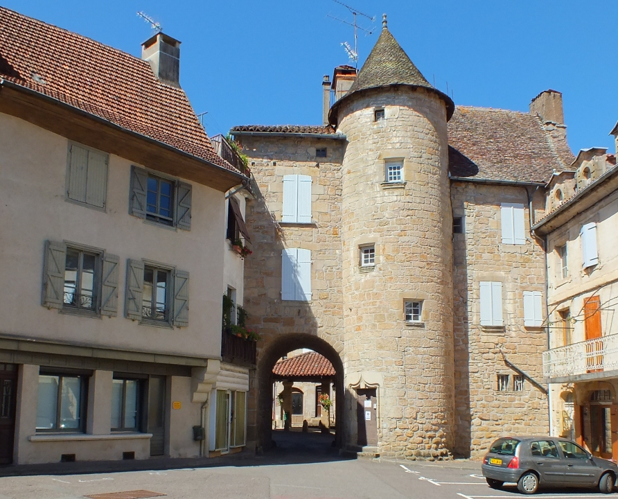 Châteaux & Fortifications - Lacapelle-Marival - Porte l'Arbol -