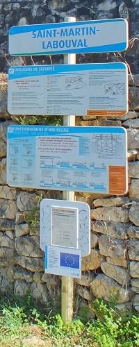 Écluses & Chaussées - Crégols - Écluse de Saint-Martin-Labouval -