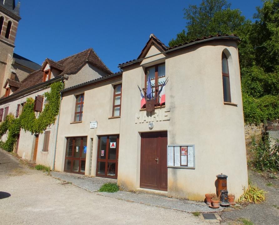 Mairies - Crégols - Mairie (bourg) -