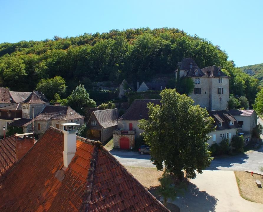 Points de vue - Crégols - Point de vue sur le bourg -