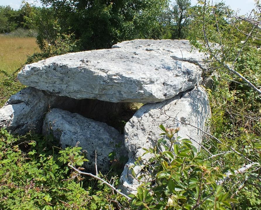 Dolmens & menhirs - Livernon - Dolmen de la Rougié -