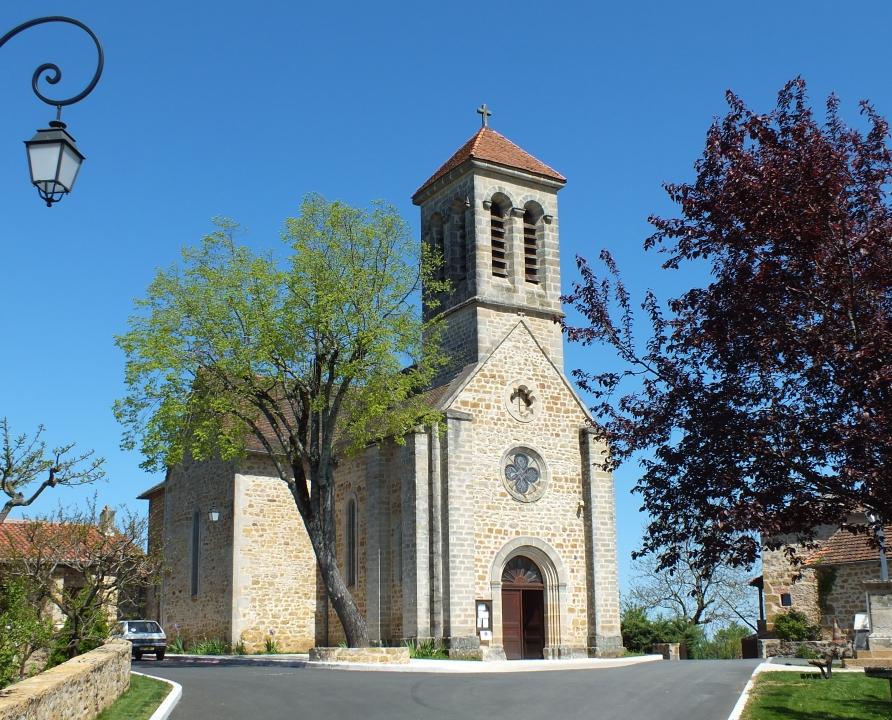 Églises & Abbayes - Saint-Jean-Mirabel - Église Saint-Jean -