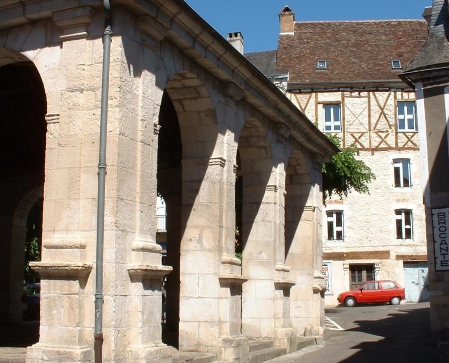 Halles - Souillac - Halle (Place Doussot) -