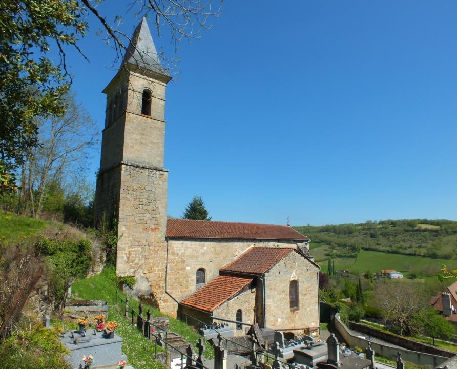 Églises & Abbayes - Issepts - Église Saint-Laurent (bourg) -