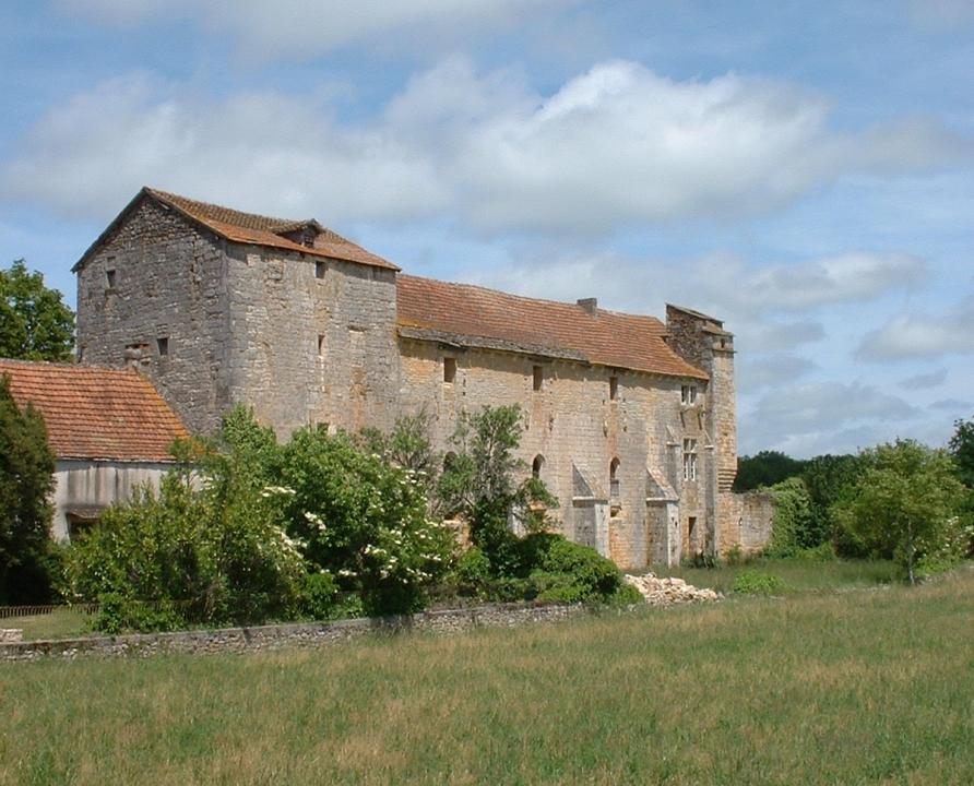 Églises & Abbayes - Laramière - Prieuré Notre-Dame, de chanoines de saint Augustin -