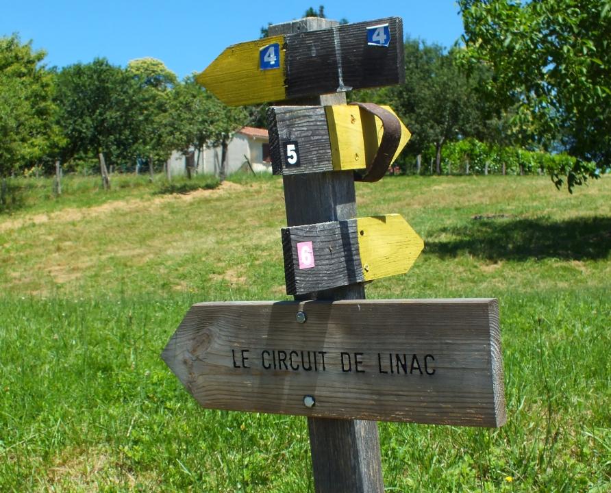 Circuits randonnée pédestre - Linac - Le circuit de Linac - 11km (Balise du bourg)