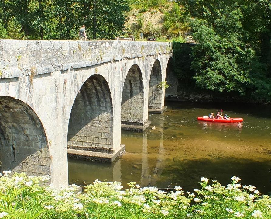 Ponts & Viaducs - Marcilhac-sur-Célé - Pont routier sur le Célé (bourg) -