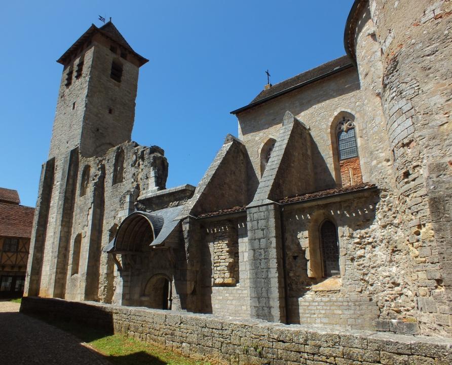 Églises & Abbayes - Marcilhac-sur-Célé - Abbaye Saint-Pierre (bourg) -