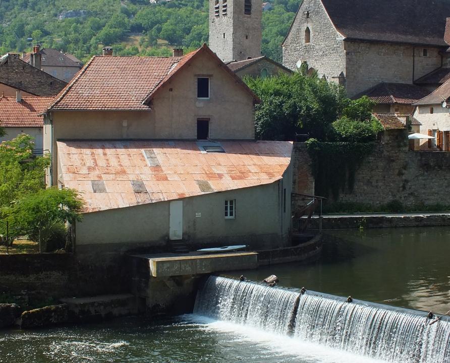 Moulin à eau - Marcilhac-sur-Célé - Moulin à eau de Marcilhac -