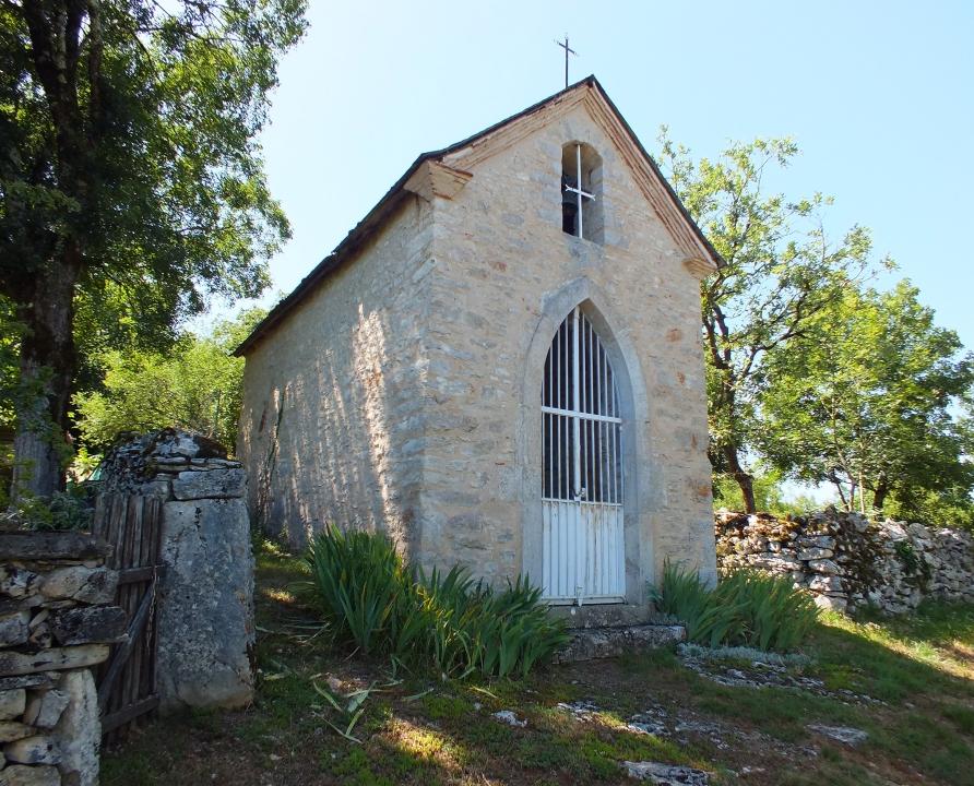 Églises & Abbayes - Marcilhac-sur-Célé - Chapelle de Pailhès -