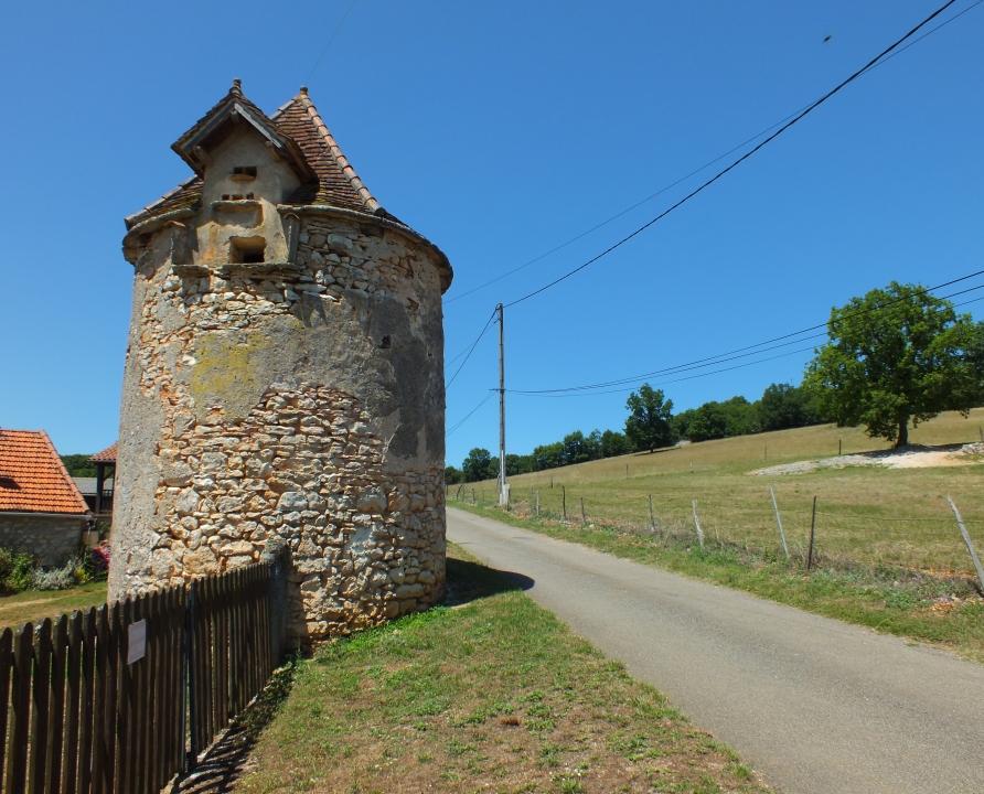 Pigeonniers & Colombiers - Saint-Chels - Le pigeonnier du Mas de Rau -