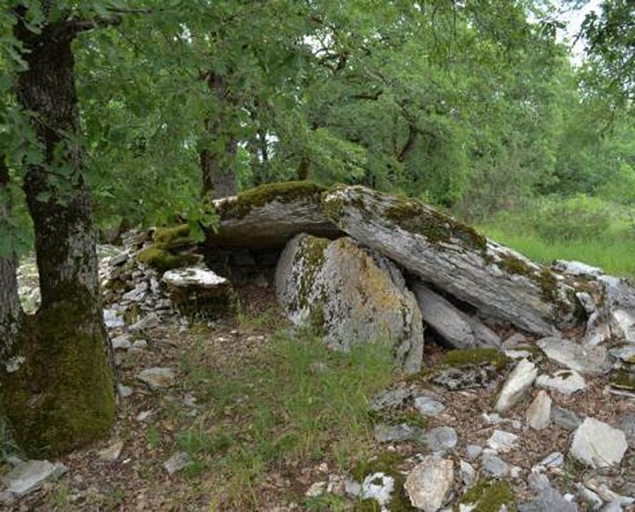 Dolmens & menhirs - Saint-Chels - Dolmen du Pech d'Agaïo -