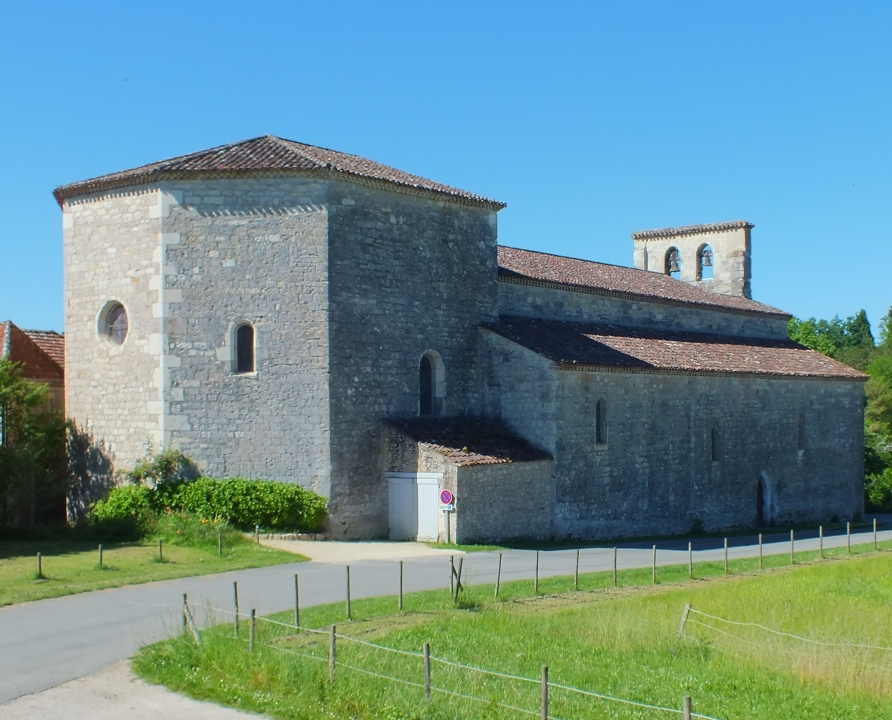 Églises & Abbayes - Bélaye - Église Saint-Aignan -