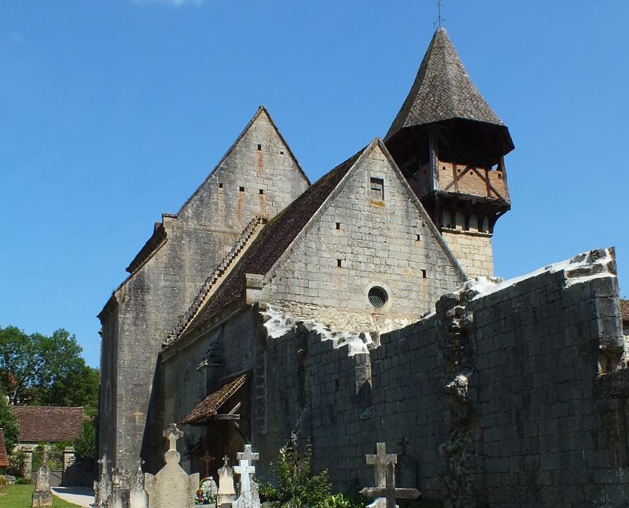 Églises & Abbayes - Espagnac-Sainte-Eulalie - Église Saint-Augustin -