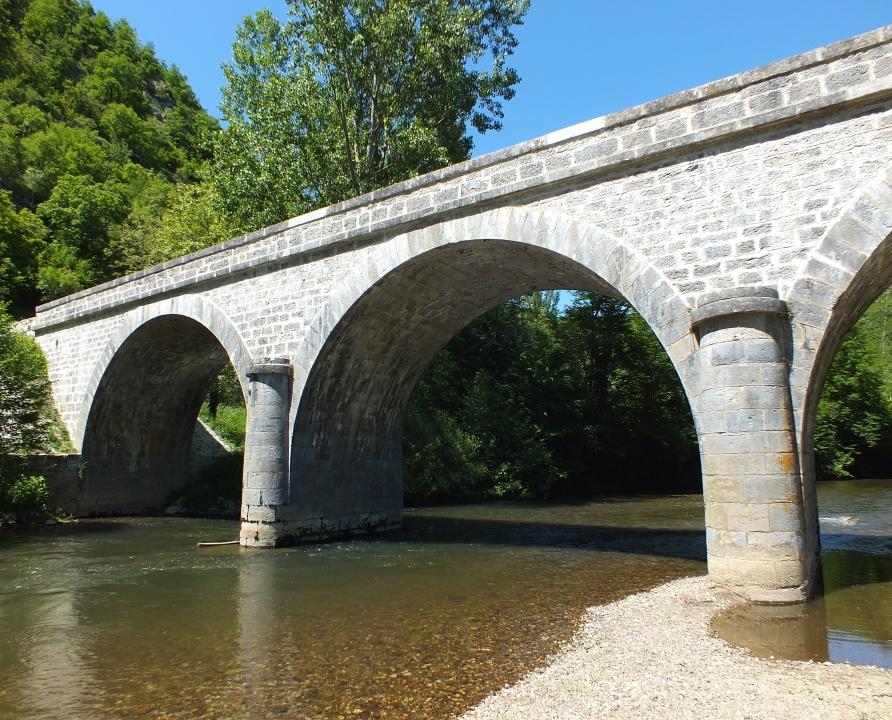 Ponts & Viaducs - Espagnac-Sainte-Eulalie - Pont d'Espagnac -