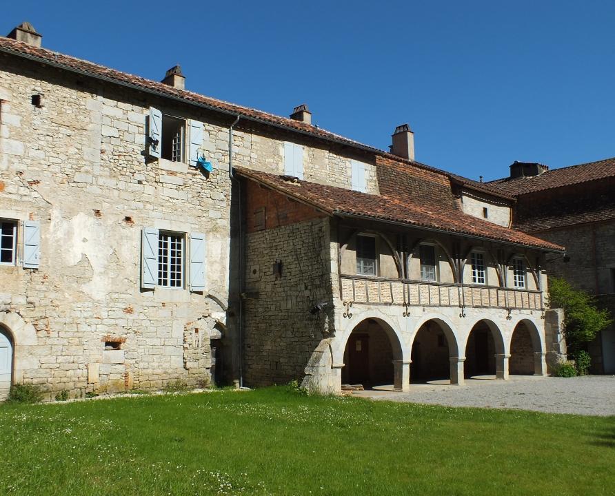 Églises & Abbayes - Espagnac-Sainte-Eulalie - Prieuré Notre-Dame-du-Val-Paradis d'Espagnac -