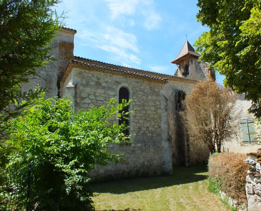 Églises & Abbayes - Sainte-Croix - Église Sainte-Croix (bourg) -