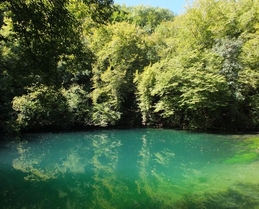 Rivières & Ruisseaux - Calès - Résurgence du Gouffre Saint-Sauveur -