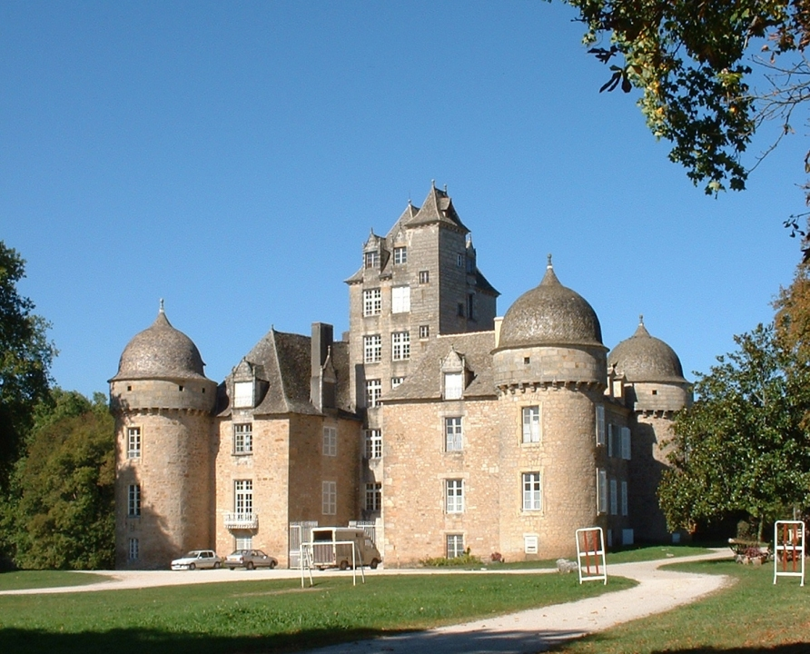 Châteaux & Fortifications - Aynac - Château (bourg) -