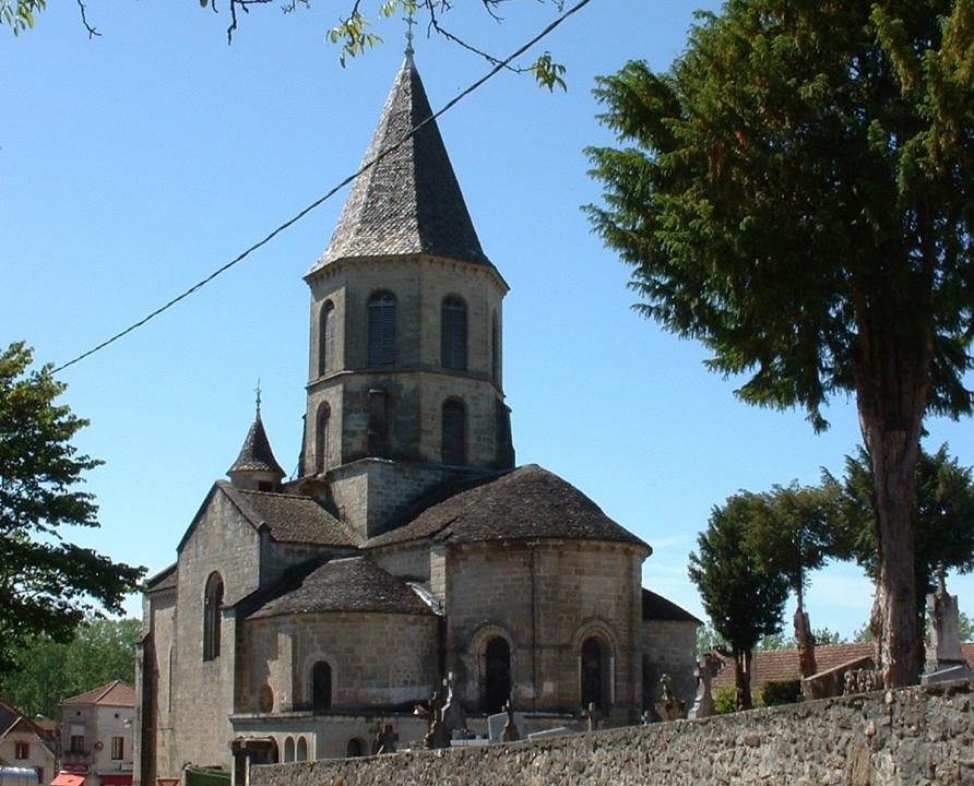 Églises & Abbayes - Aynac - Église Saint-Geniès (bourg) -