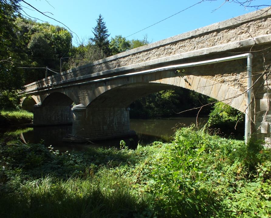 Ponts & Viaducs - Boussac - Pont de La Mouline -