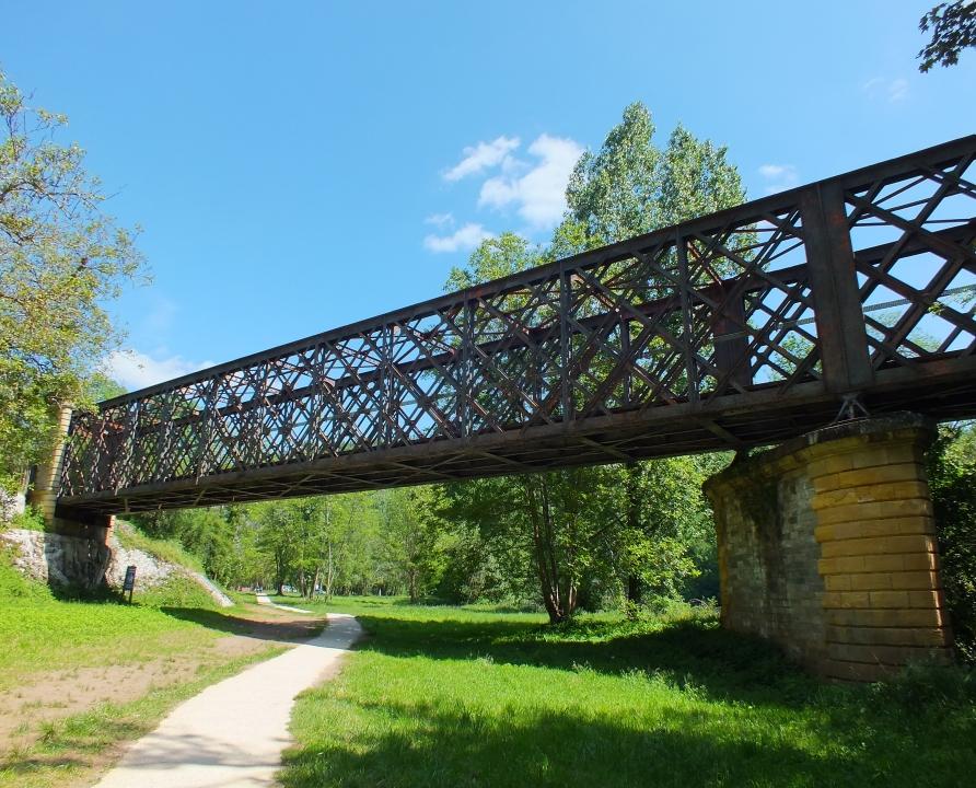 Ponts & Viaducs - Bouzies - Pont ferroviaire du Mas del Bosc -