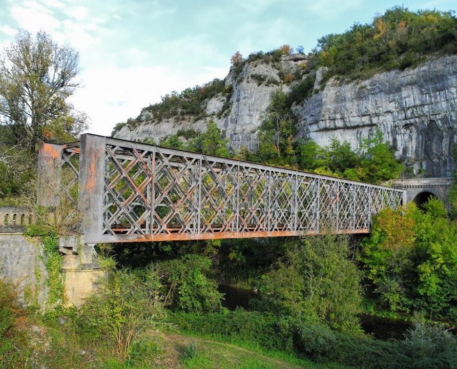 Ponts & Viaducs - Bouzies - Pont ferroviaire du Conduché -