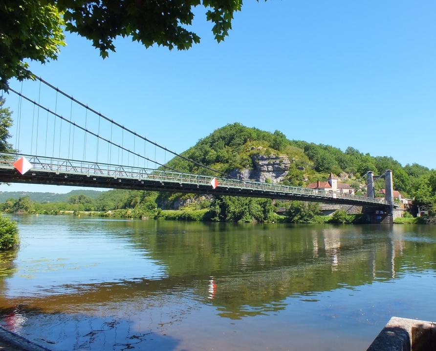 Ponts & Viaducs - Cajarc - Pont suspendu -