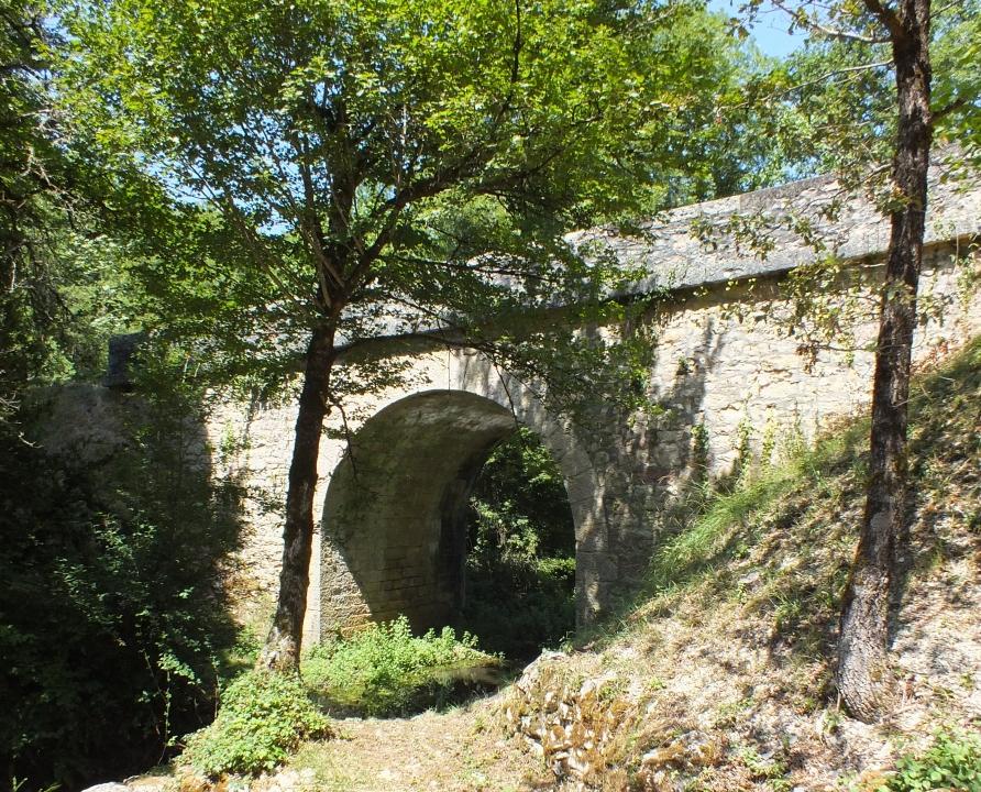 Ponts & Viaducs - Calvignac - Pont du Ruisseau -