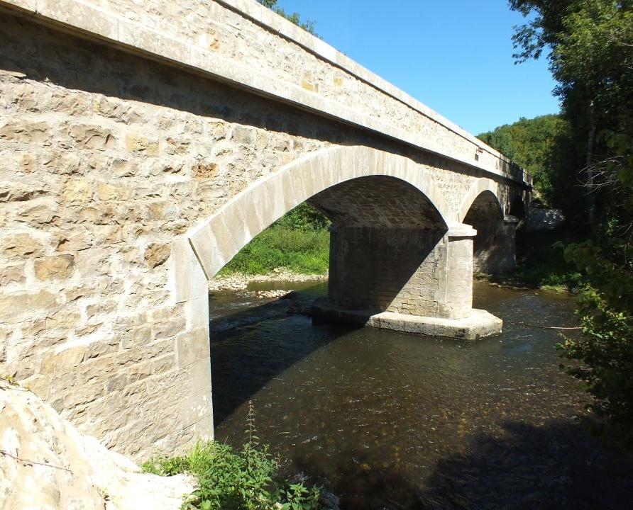 Ponts & Viaducs - Camboulit - Pont du Coustal -