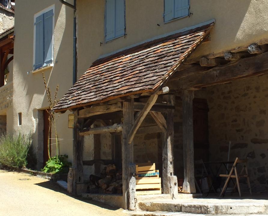 Outils du Passé - Corn - Travail à ferrer (bourg) -