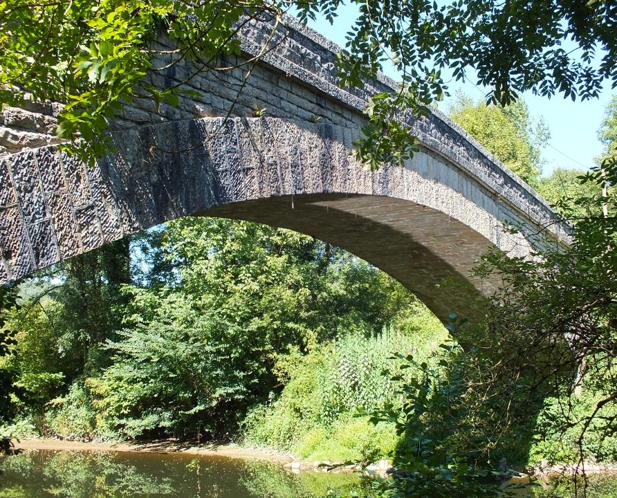 Ponts & Viaducs - Corn - Pont des Vergnes -