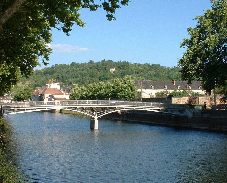 Ponts & Viaducs - Figeac - Passerelle Marc Mimram -