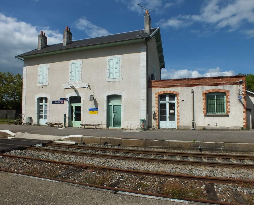 Gares & Voies ferrées - Gramat - Gare Ferroviaire (Avenue de la Gare) -