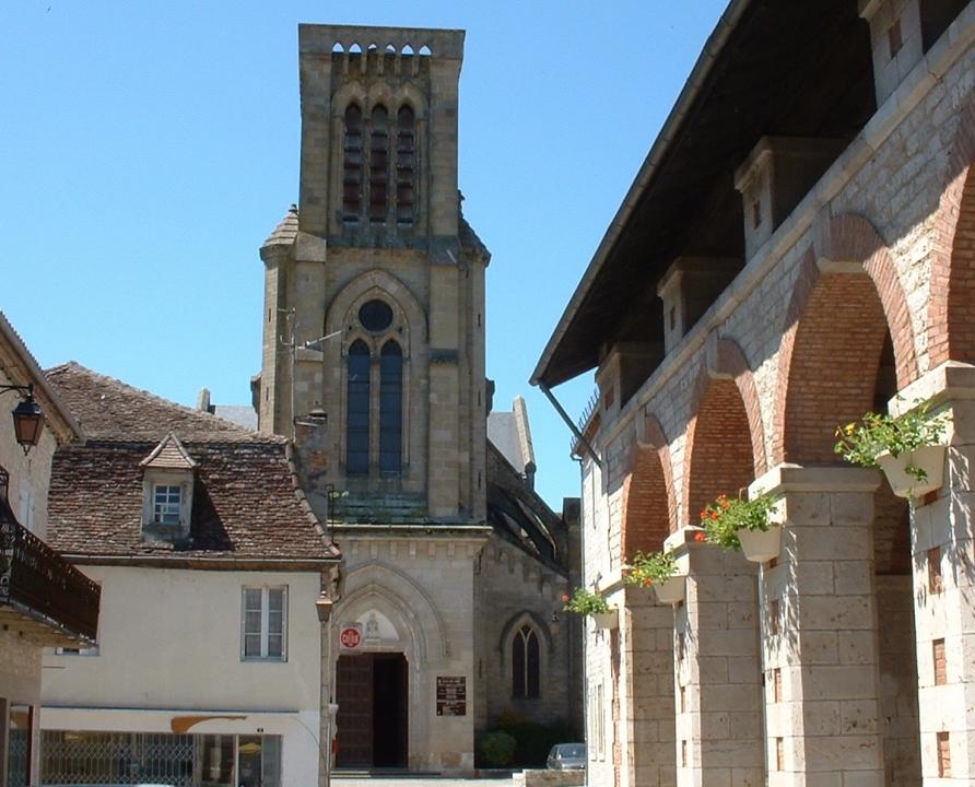 Églises & Abbayes - Gramat - Église Saint-Pierre (Place de l'Église) -