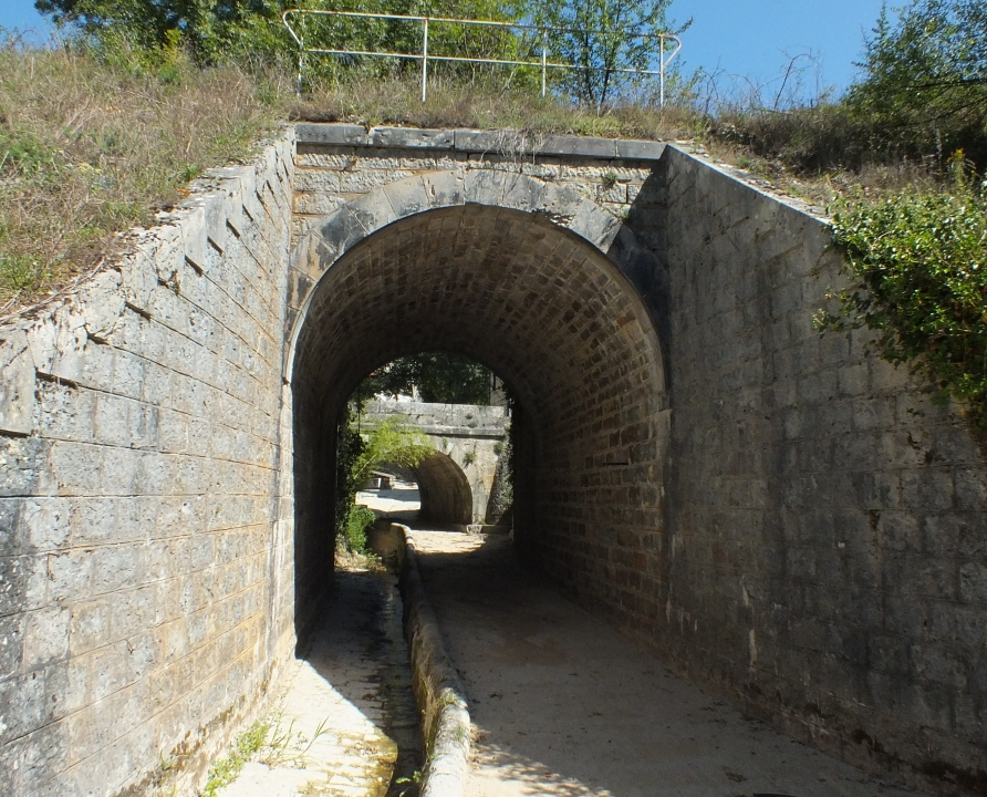 Ponts & Viaducs - Montbrun - Pont ferroviaire (bourg) -