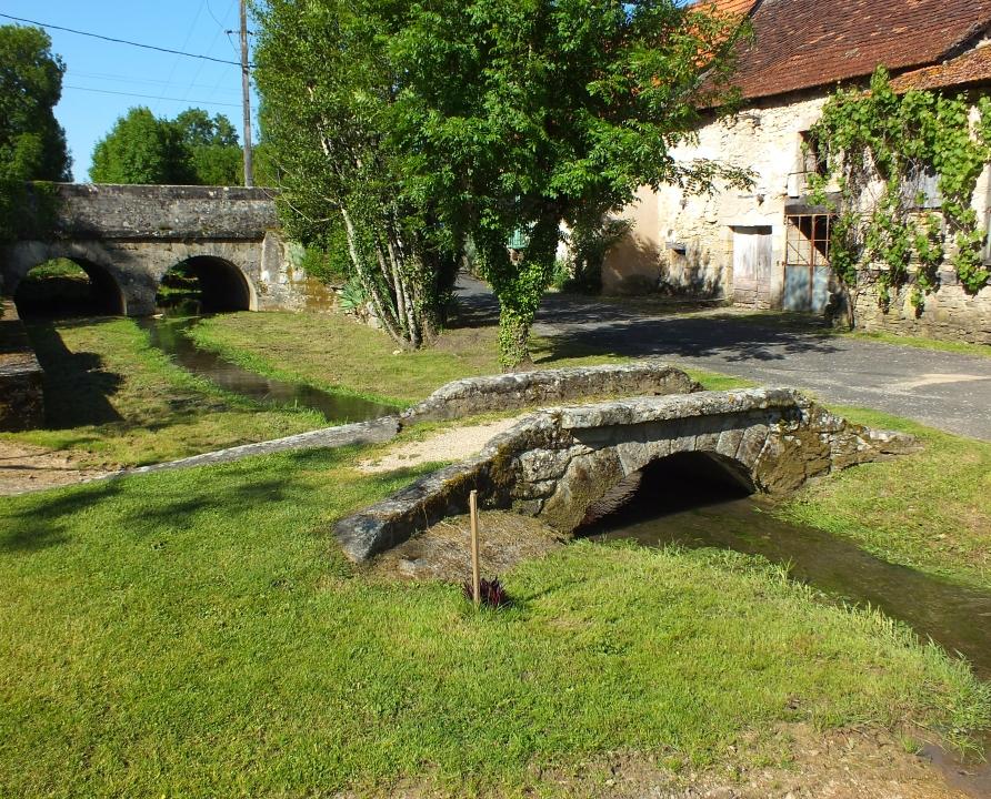 Ponts & Viaducs - Rudelle - Ponceau de l'église (bourg) -