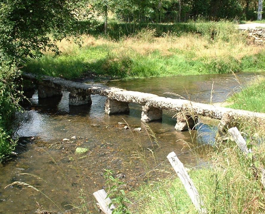 Ponts & Viaducs - Théminettes - Gué du Mas de Bigayrre -