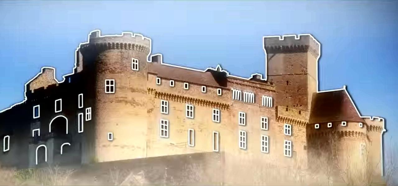 Château de Castelnau-Bretenoux à Prudhomat