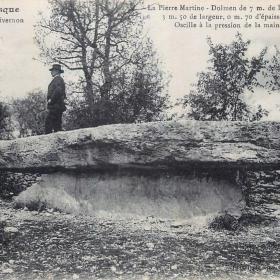 LOT'refois - CPA - début XXe - Livernon - Dolmen Pierre Martine