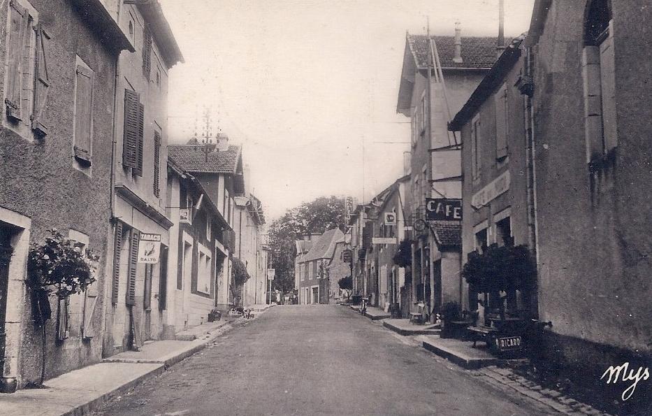LOT'refois - CPA - début XXe - Livernon - Rue Principale