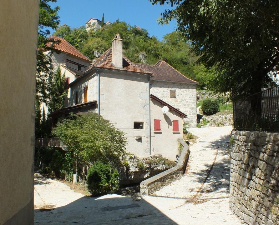 Points de vue - Montbrun - Dans les rues du bourg -