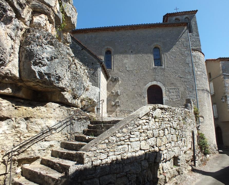 Églises & Abbayes - Montbrun - Église Saint-Blaise (bourg) -