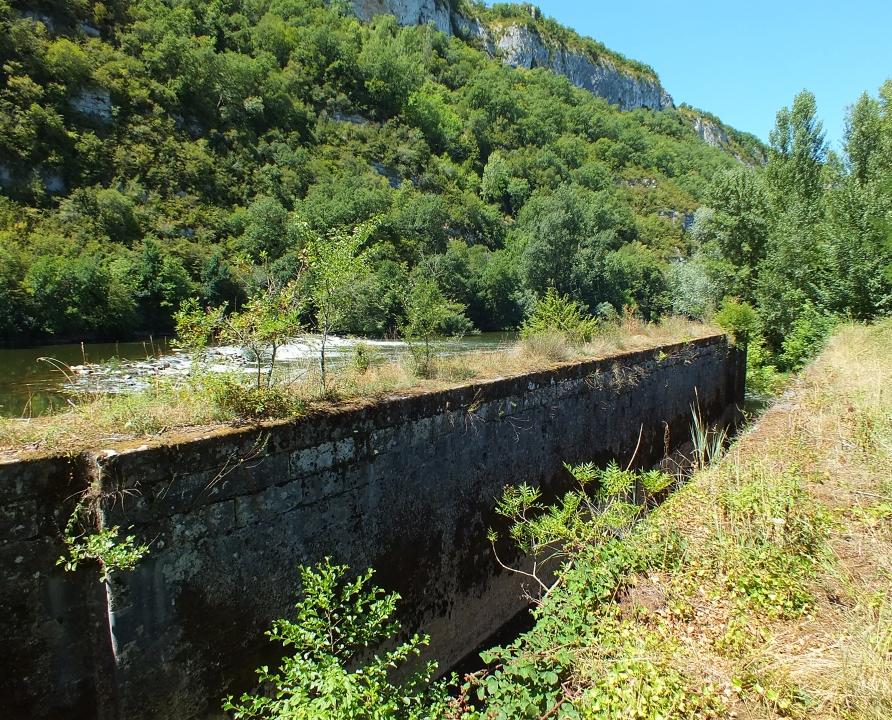 Écluses & Chaussées - Montbrun - Écluse de la Barasquie -