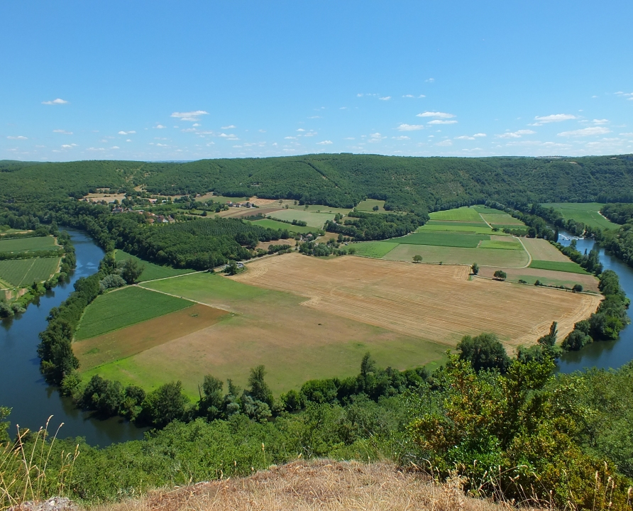 Châteaux & Fortifications - Montbrun - Point de vue du Travers -