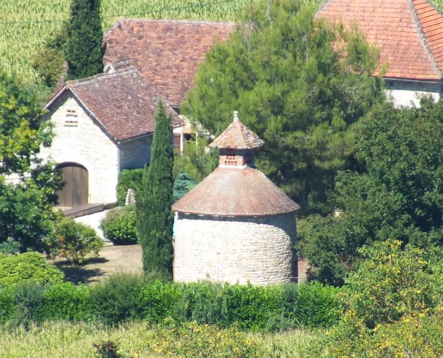 Pigeonniers & Colombiers - Montbrun - Le pigeonnier de Caillac -