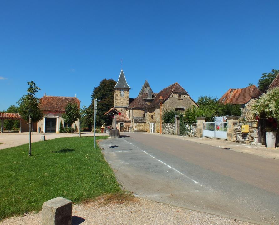 Rues & Ruelles - Albiac - Dans les rues du bourg -