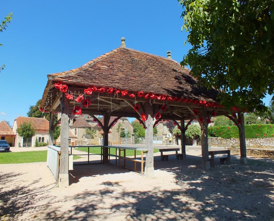 Halles - Albiac - Petite Halle (bourg) -